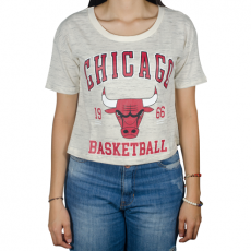 Cropped NBA College Chicago Bulls Off White