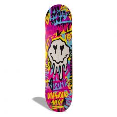 Shape de Skate Street Marfim Via Skate Shop x Gabi Mirandas