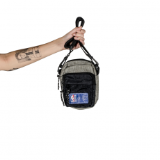 Shoulder Bag NBA Exclusive Mescla Cinza