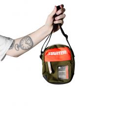 Shoulder Bag Starter Patch Embor LVM Black Label Verde Militar