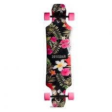Skate Longboard Hondar Freeride 40'' Flores Rosas