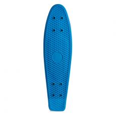 Skate Mini Cruiser de Plástico Creme Azul