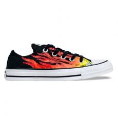 Tênis Converse Chuck Taylor All Star OX Flame Preto / Azul Celeste / Branco CT15790001