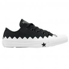 Tênis Converse Chuck Taylor All Star Ox Preto / Branco