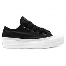 Tênis Converse Chuck Taylor All Star Twisted Archive Platform Lift Ox Preto - Branco - CT13720001