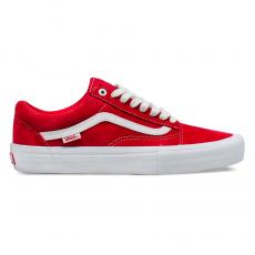 Tênis Vans Old Skool PRO Vermelho / Branco VN000ZD4AJL