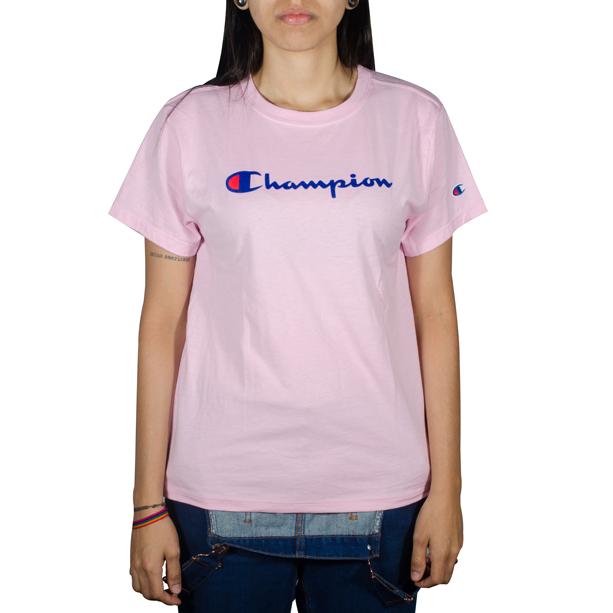 Blusa Champion Classic Graphic Rosa