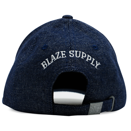 Boné Blaze Aba Curva Jeans Azul