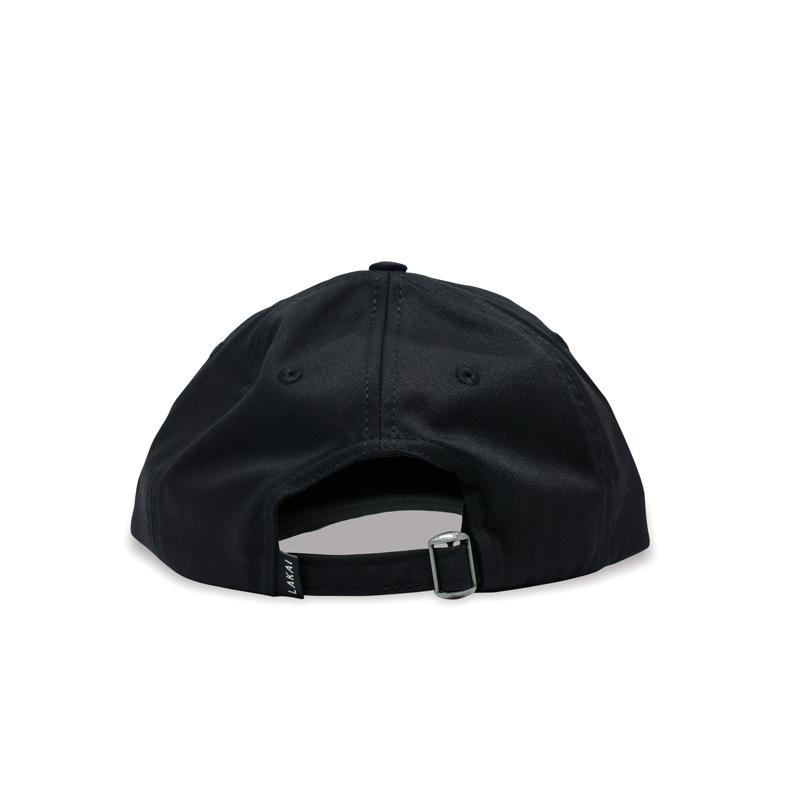 Boné Dad Hat Lakai Panter Polo Preto LKAC010005