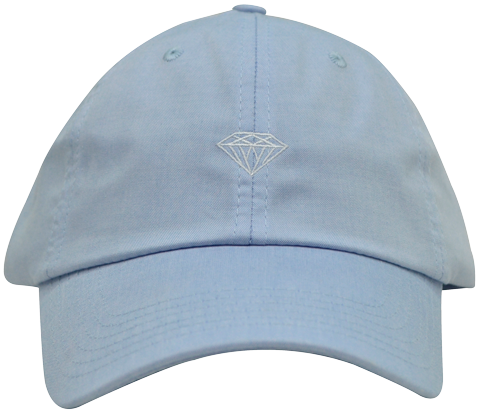 Boné Diamond Micro Brilliant Sports Trucker Azul Claro