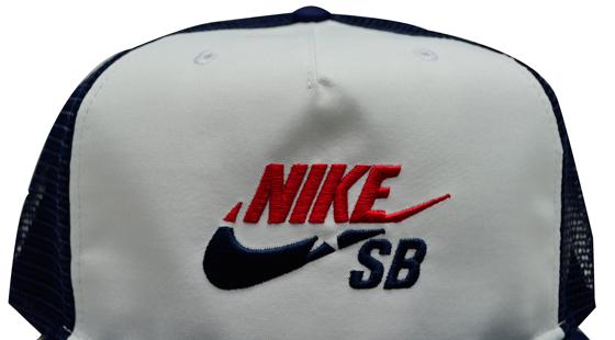 7d20d467c7e45 Boné Nike Sb Cap Trucker Azul Marinho   Branco