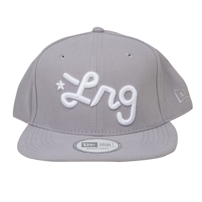 Boné Snapback LRG Core Collection Cinza