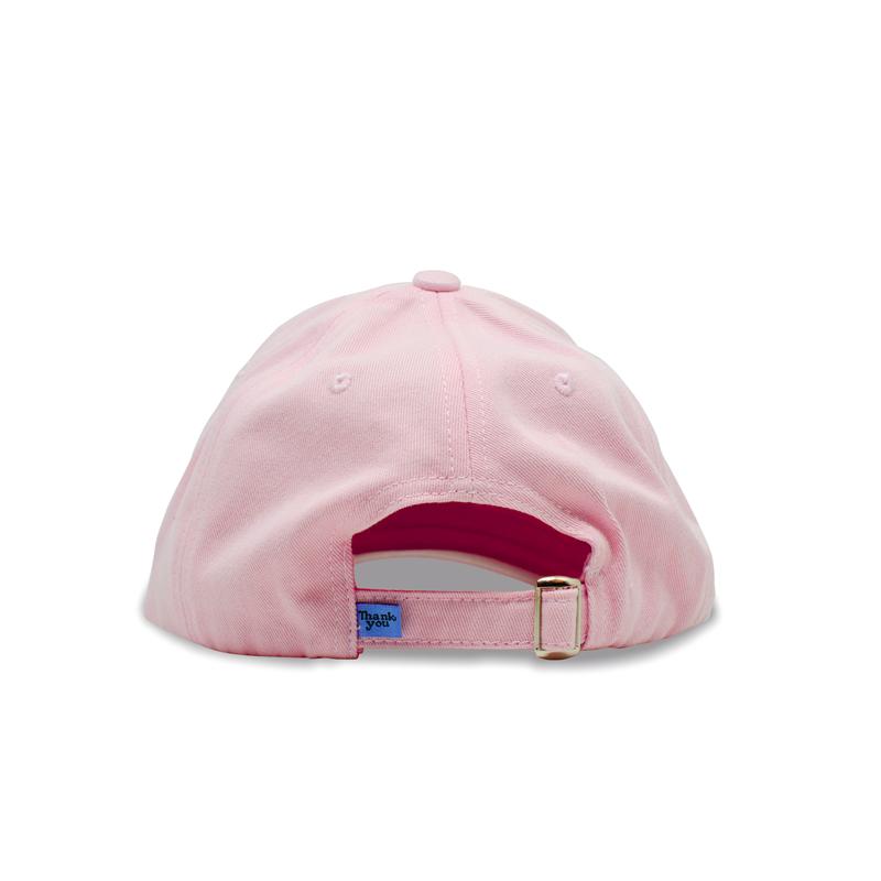 Boné Thank You Strapback Dad Hat Rosa I21TKB01