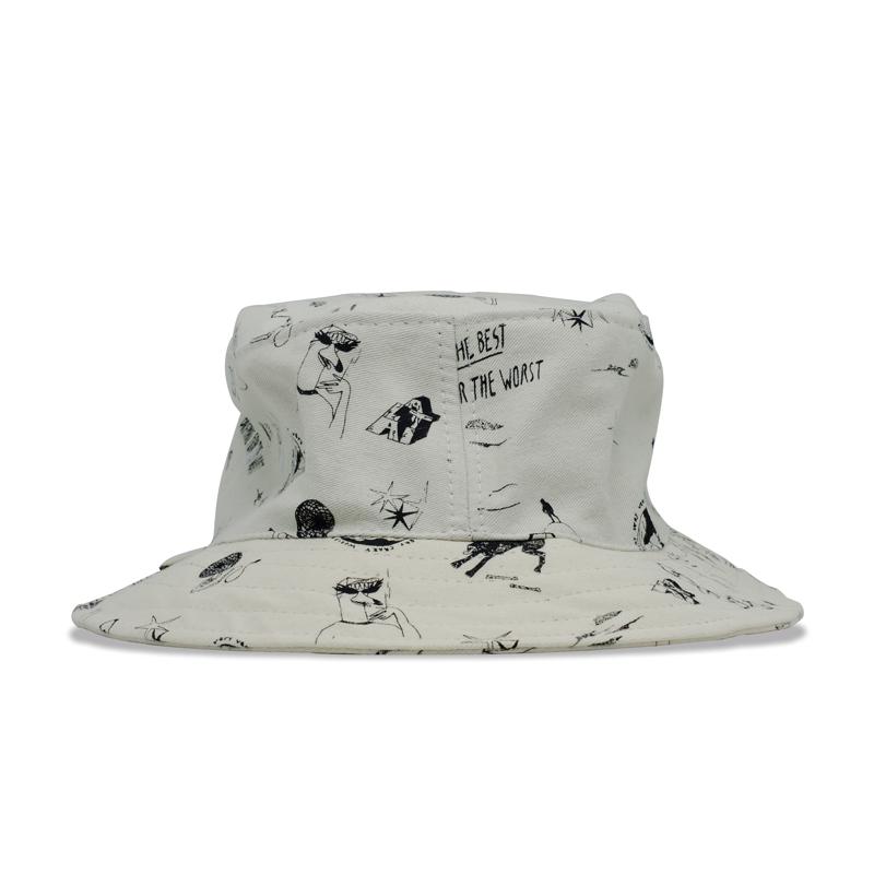 Bucket Hat Altai Pattern Bege