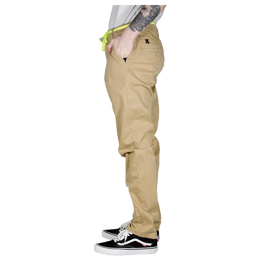 Calça Starter 100% Skate Chino Bege