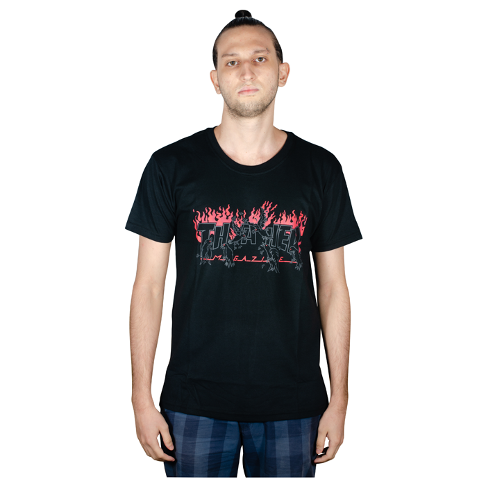 Camisa Thrasher Crows Big Preta 1013020023