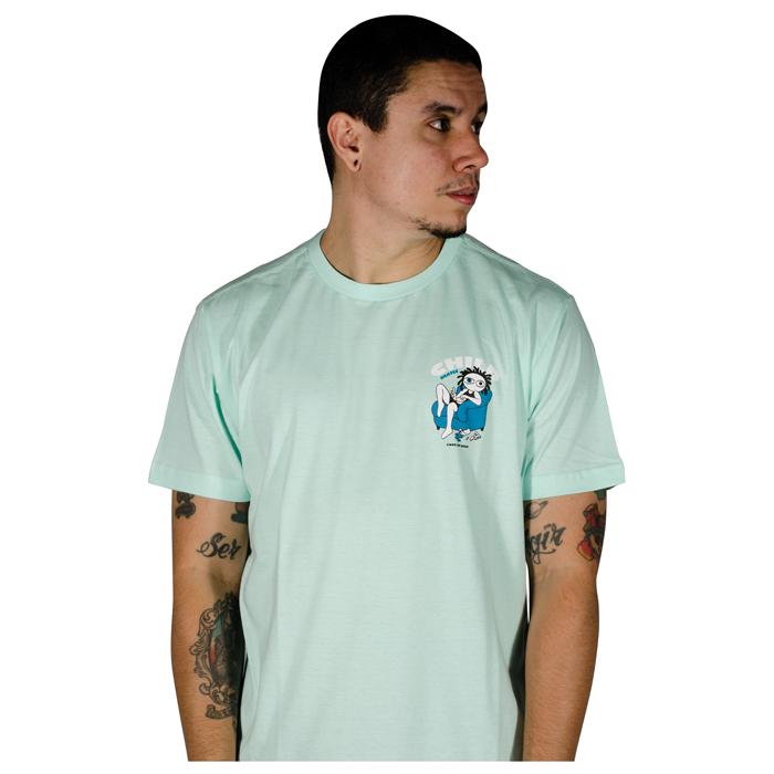 Camisa Child Quarentena Azul Claro 80241002