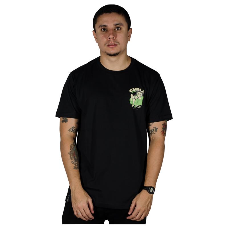 Camisa Child Quarentena Preta 80241002