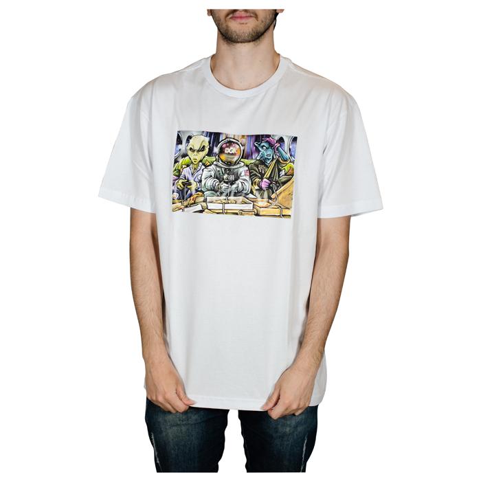 Camiseta DGK Game Night Branca PTM-2185