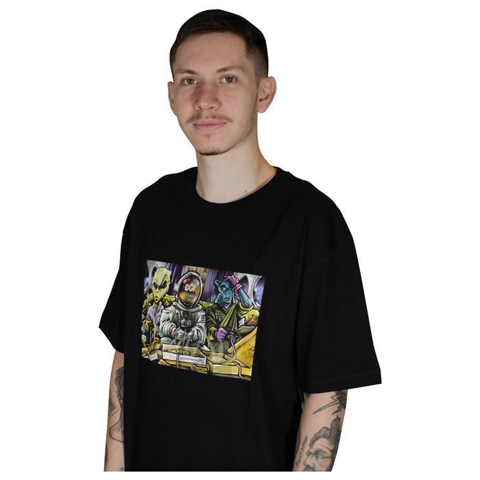 Camiseta DGK Game Night Preta PTM-2185