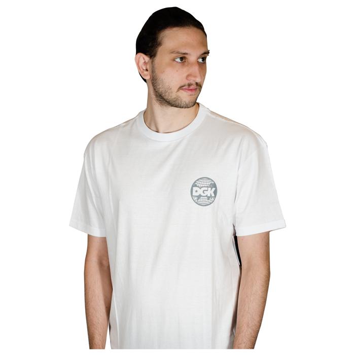 Camisa DGK Wordwide Branca I21DGC07