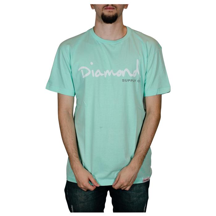 Camisa Diamond OG Script TEE Verde Agua Z15DPA01