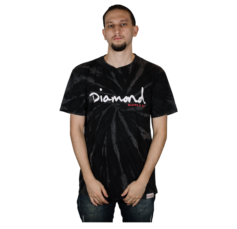 Camisa Diamond OG Script Tie Dye I21DIC03