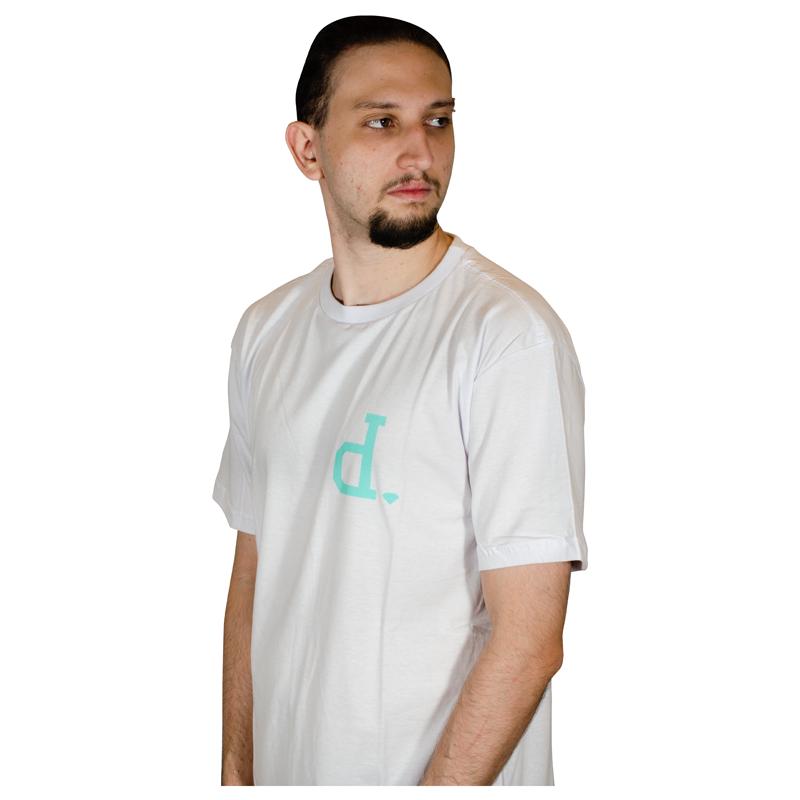 Camisa Diamond Un Polo TEE Branca V21DIC11