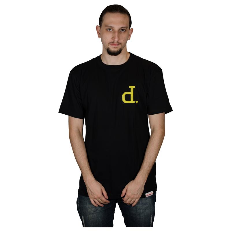 Camisa Diamond Un Polo TEE Preta V21DIC11