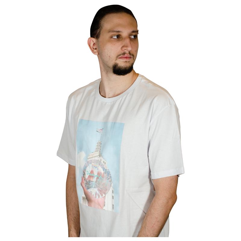 Camisa Diamond Will DMND City Branca D19BR002