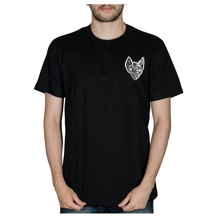 Camisa Drop Dead Bat Head Preta 70241013