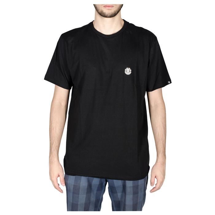Camisa Element Logo Chest Preto E471A0311