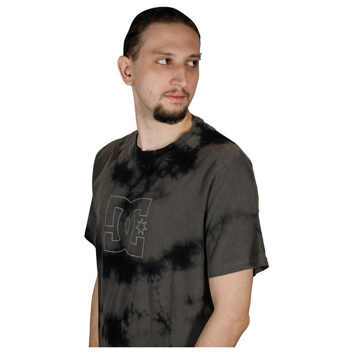 Camisa Especial DC Cloudy Tie Dye Preto D461A0059