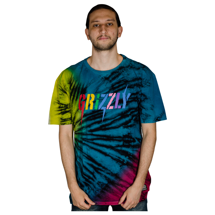 Camisa Grizzly Especial Incite Tie Dye Tee I21GR05