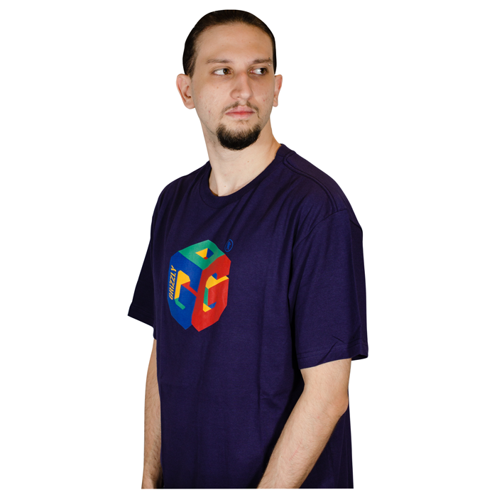 Camisa Grizzly G64F TEE Roxa GMD20001P06