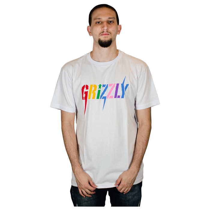 Camisa Grizzly Incite TEE Branca GMD2001P08
