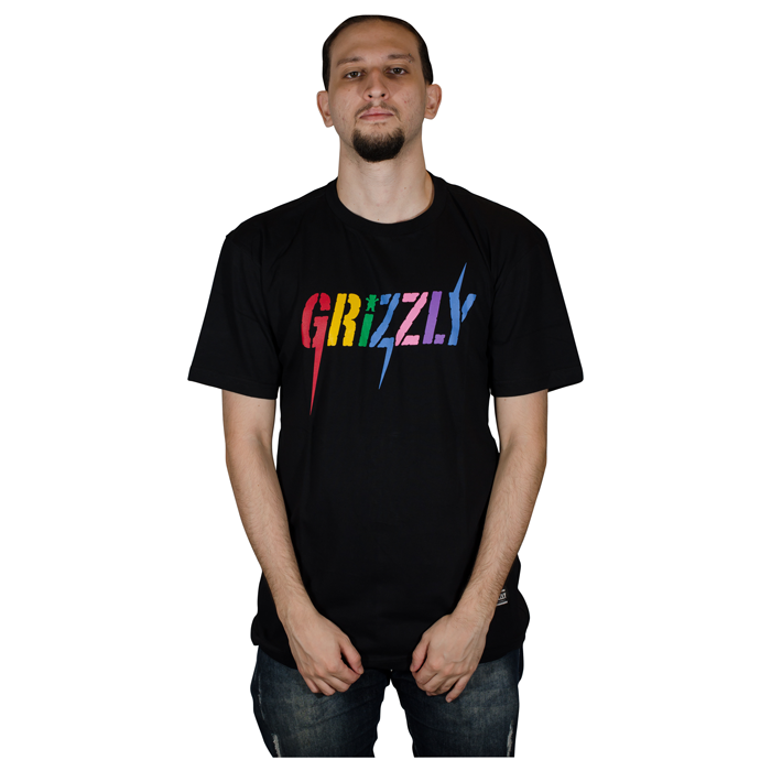 Camisa Grizzly Incite TEE Preta GMD2001P08
