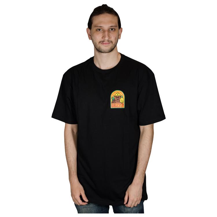Camisa Grizzly Prevention Preta GMD2001P30