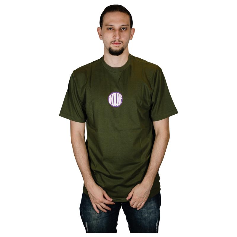 Camisa Huf HI FED Verde Militar HFTS010013