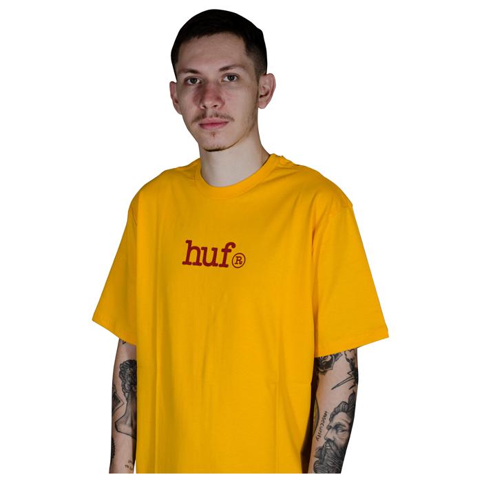Camisa Huf Type Amarela HFTS01000802