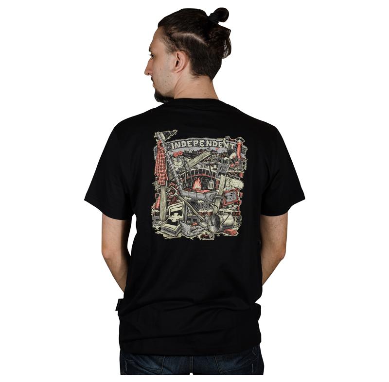 Camisa Independent Crust Preta 60241013