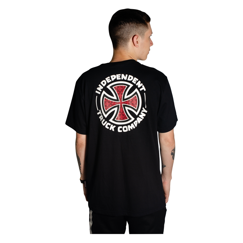 Camisa Independent Repeat Cross Preta
