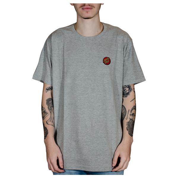 Camisa Santa Cruz Classic Dot Chest Mescla Cinza 50200510