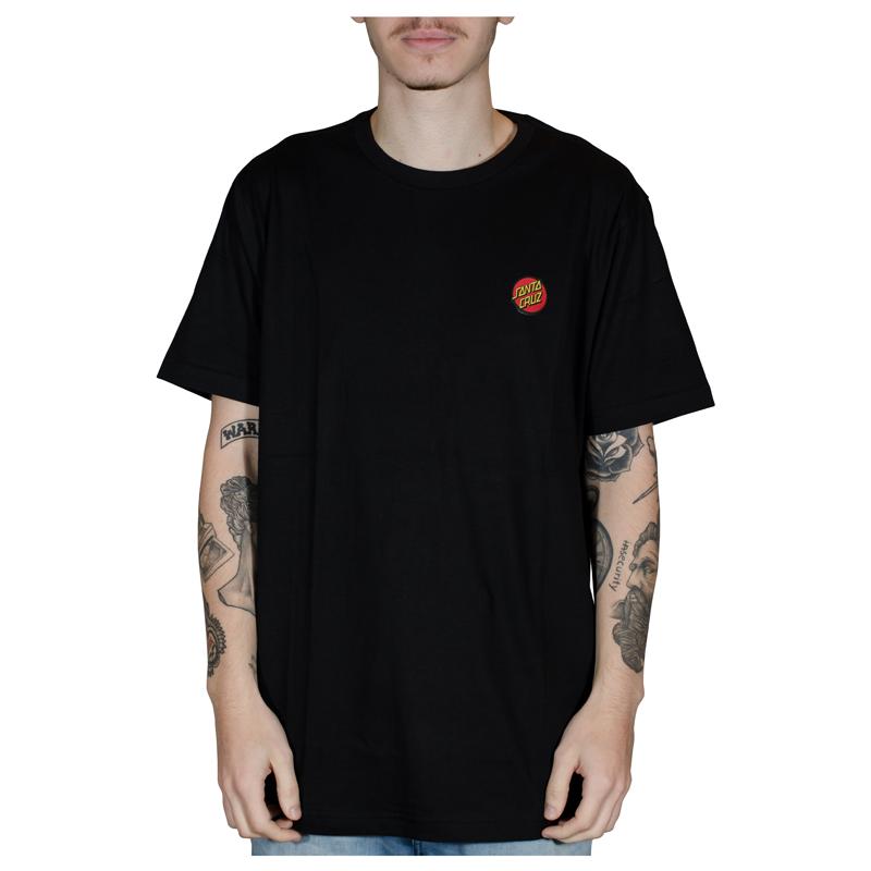 Camisa Santa Cruz Classic Dot Chest Preta 50200510