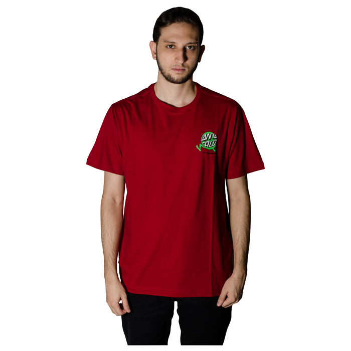 Camisa Santa Cruz Fisheye Guy Bordo 50241015