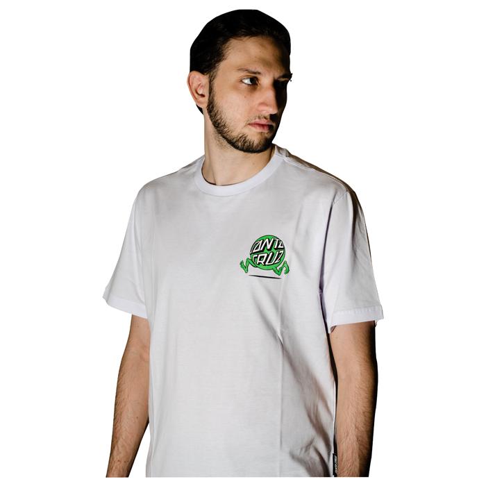 Camisa Santa Cruz Fisheye Guy Branca 50241015