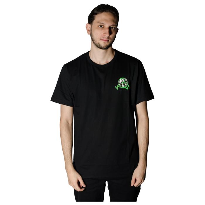 Camisa Santa Cruz Fisheye Guy Preto 50241015