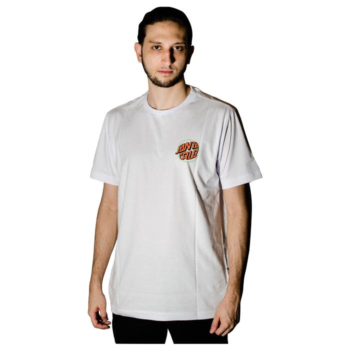 Camisa Santa Cruz Toxic Hand Branca 50241013