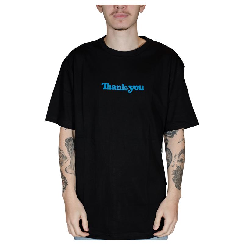 Camisa Thank You Center Preto SS TYSU20_015