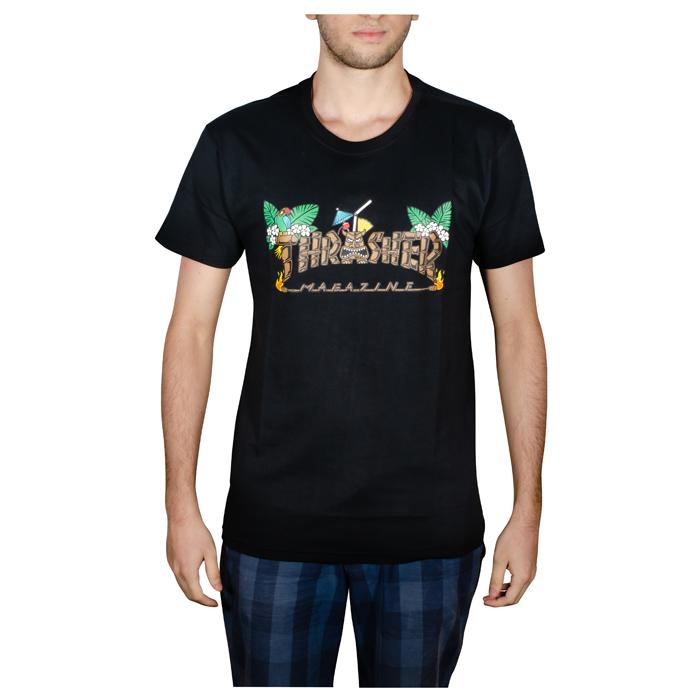 Camisa Thrasher Tiki Preta 1013020015